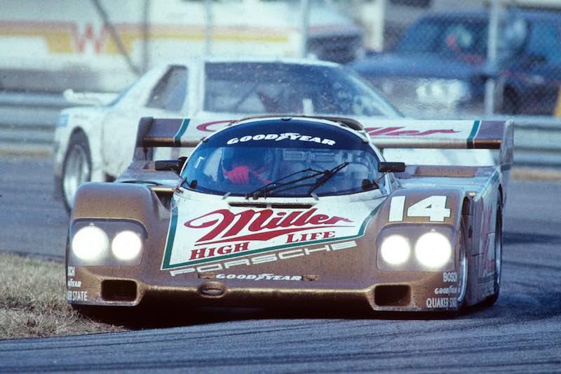 Miller High Life Porsche 962