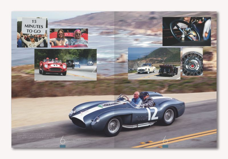 Nine Over Nine Monterey Car Week Book