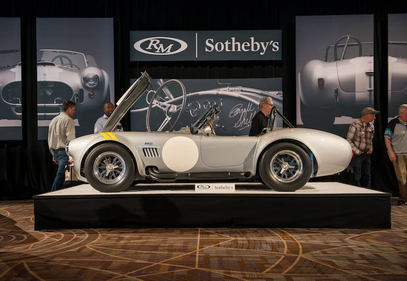 1966 Shelby 427 Cobra S/C sold for $2,947,500