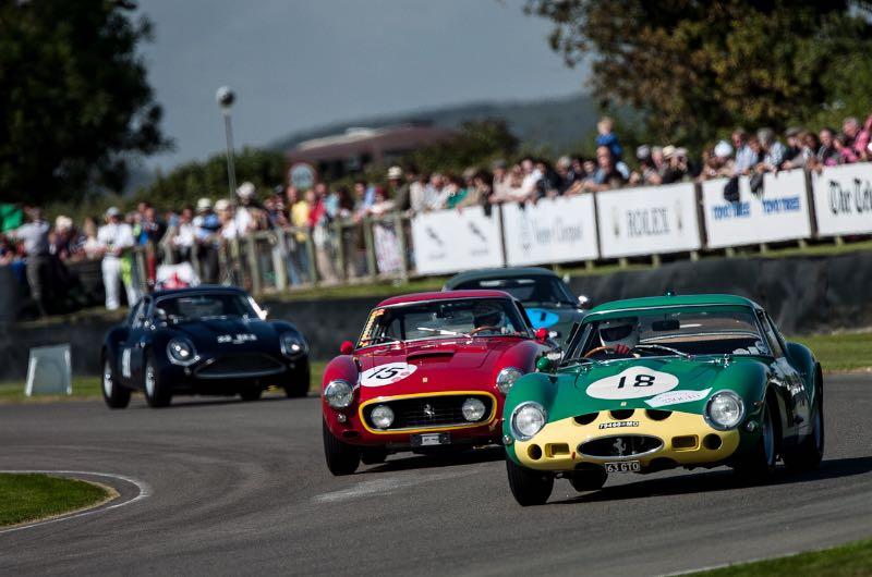 Ferrari 250 GTO and 250 GT SWB