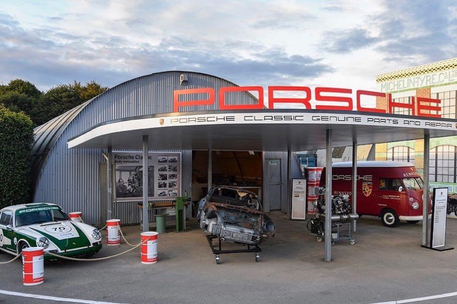 2018 Goodwood Revival, Porsche Display