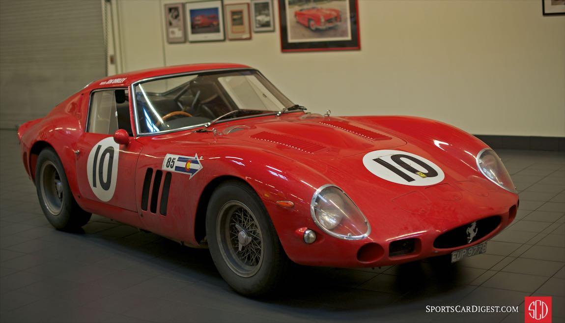 1962 Ferrari 250 GTO, Jon Shirley, 3729GT