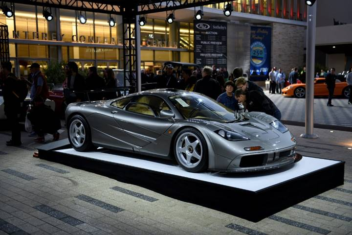1994 McLaren F1 LM serial 018