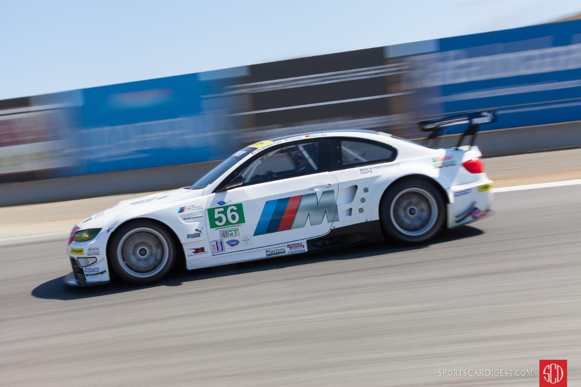 2011 BMW M3 GT Laguna Seca