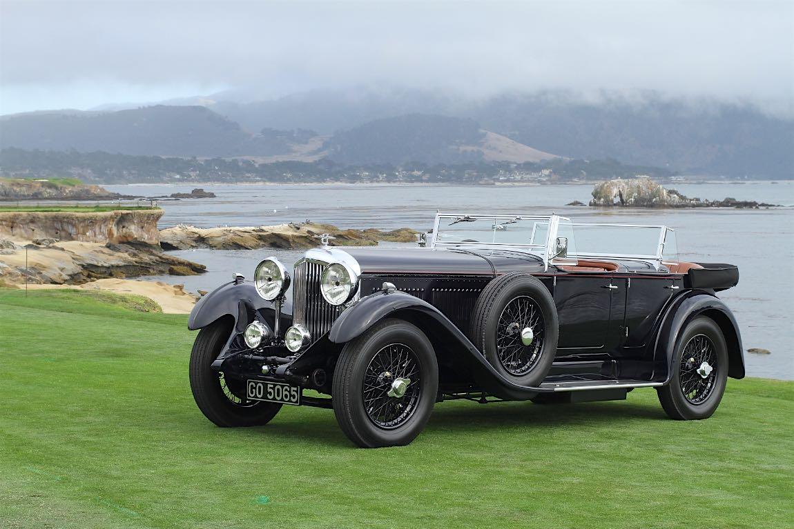 1931 Bentley 8 Litre Gurney Nutting Sports Tourer Pebble Beach Concours