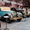 """Schlumpf Reserve Collection: original unrestored Bugattis from the """"Shakespeare Collection"""" on display at the Mullin Automotive Museum in Oxnard, California"""