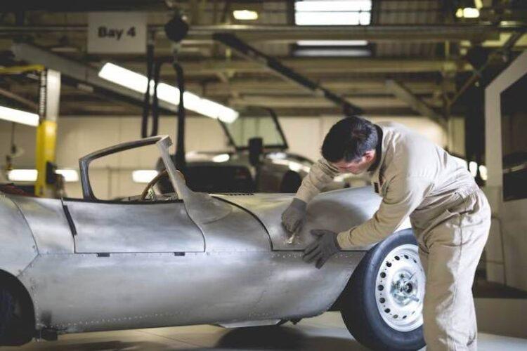 reproduction Jaguar XKSS