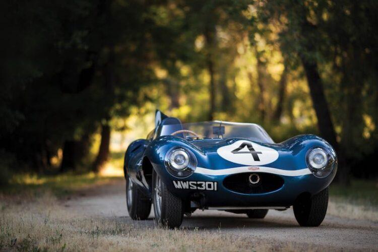 front jaguar D Type