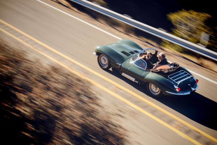 Driving the Jaguar XKSS