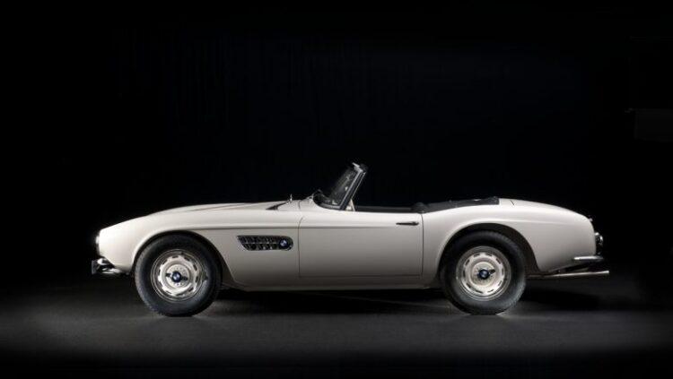 side profile BMW 507