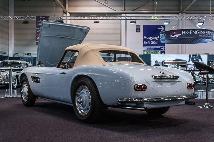 rear of BMW