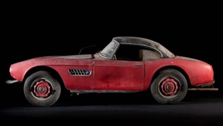 elvis unrestored BMW