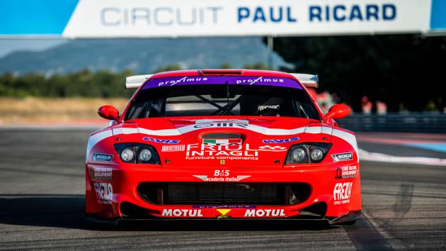 Ferrari 550 GT1 Prodrive