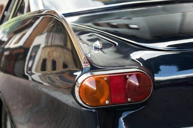 Rear lights of P1800