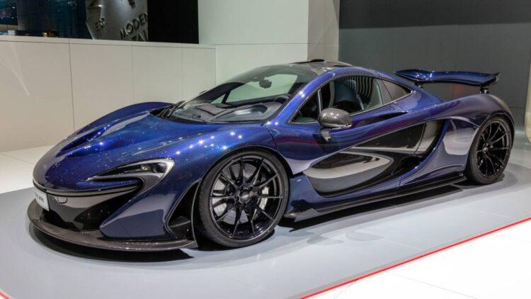 McLaren P1 Hybrid Car