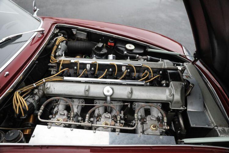 Engine of DB4 GT Zagato