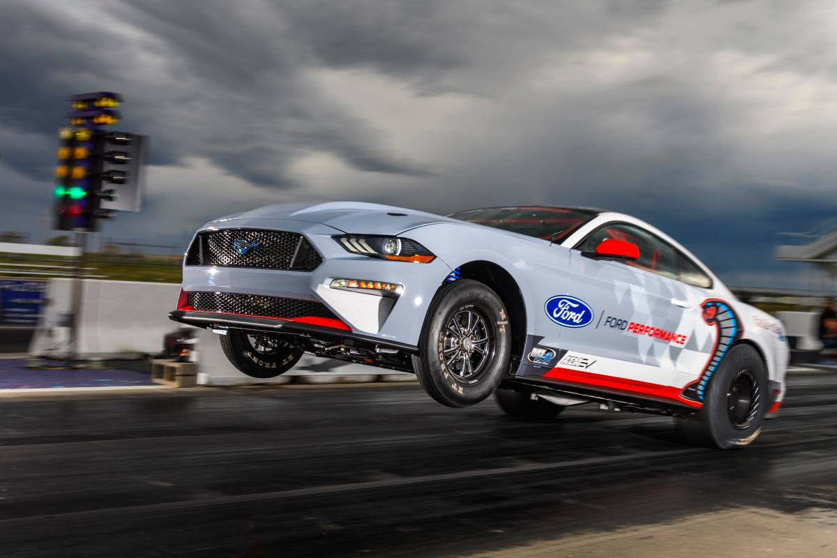 Electric Ford Mustang Cobra 1400