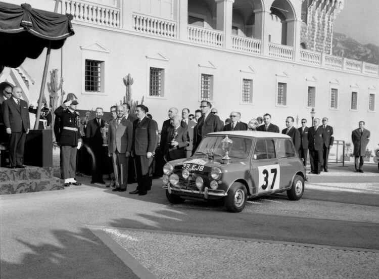 Victory at monte carlo rally