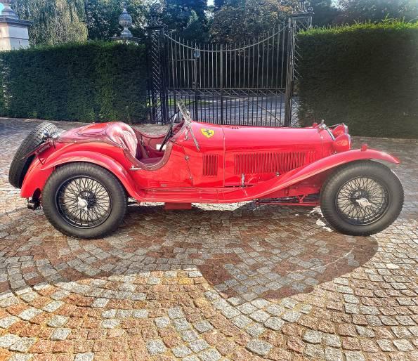 Ex-Nuvolari 8C Monza