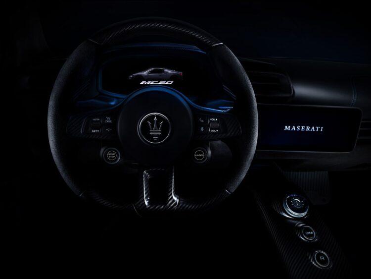 Steering wheel of MC20