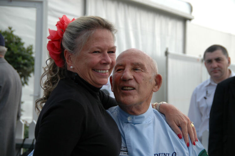 Sir Stirling and Lady Susie Moss;