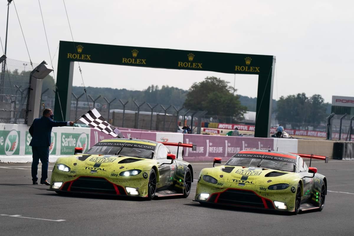 Aston Martin Le Mans Win