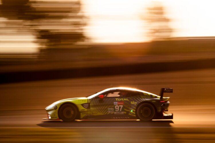 Aston Martin winning Le Mans