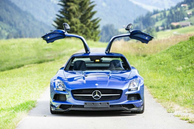 Mercedes AMG SLS 'Black Series' Coupés