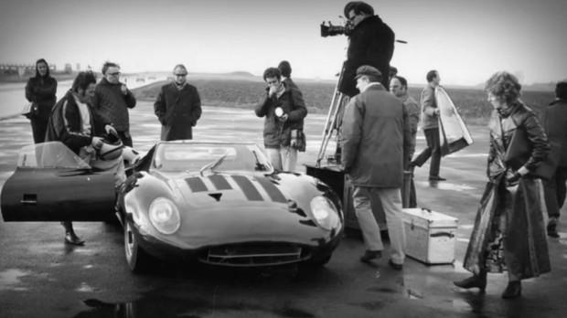 Photo of the Jaguar XJ13 in 1971 Promotional Film