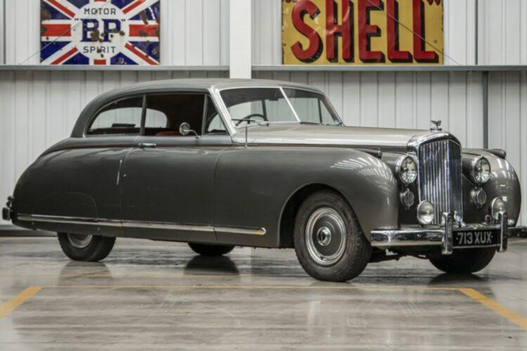"1949 Bentley MkVI two-door Couple with ""New Look"" bodywork by James Young"