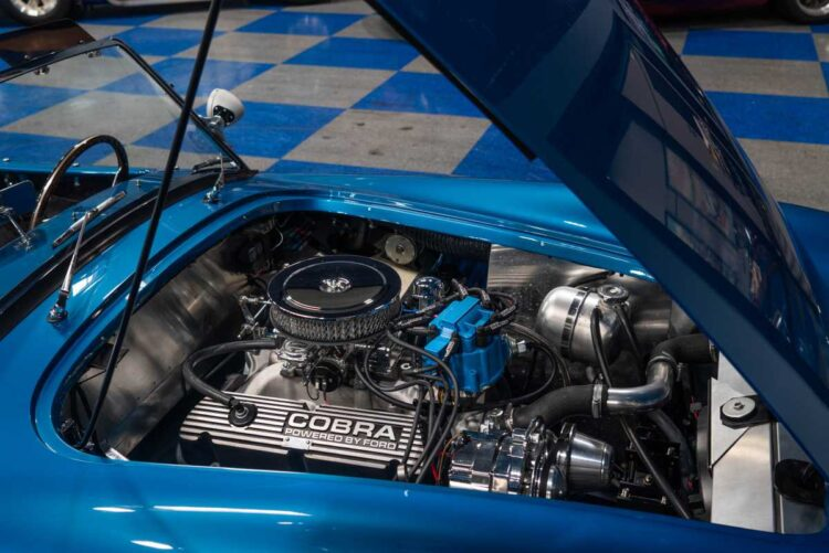 Engine of MKII Slab Side