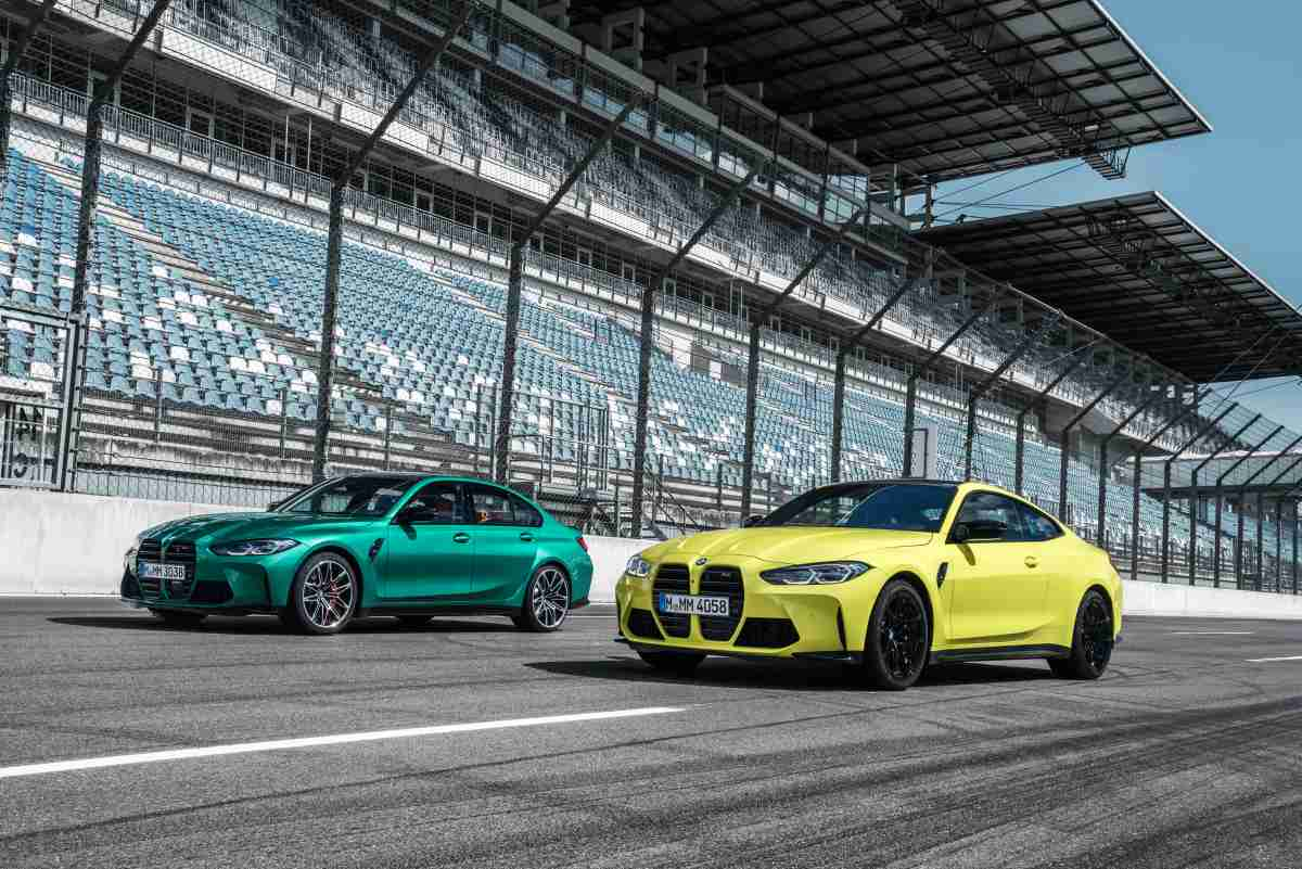 BMW M3 Competition Saloon and BMW M4 Competition Coupé