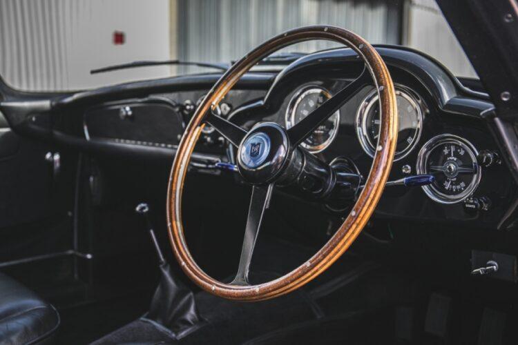interior of 1960 Aston Martin DB4 Series II Coupe