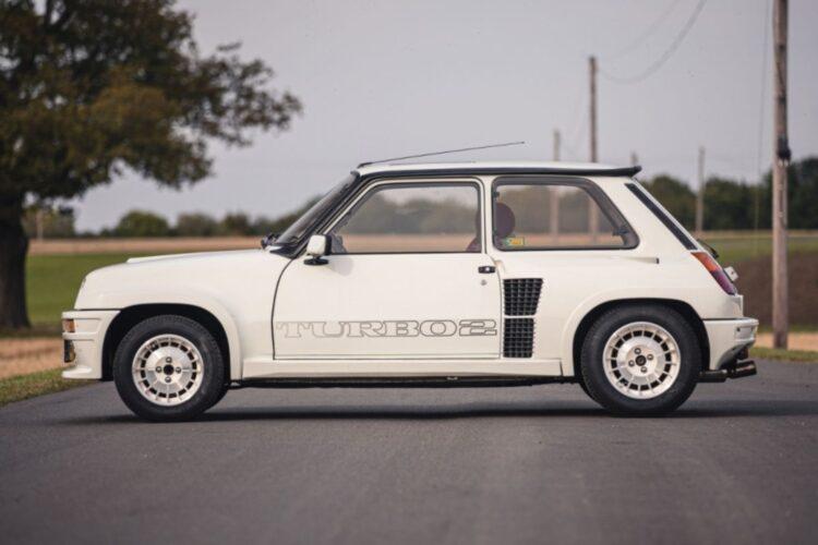 side of 1983 Renault 5 Turbo 2