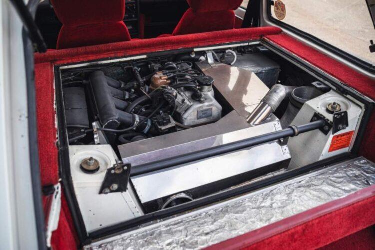 back of 1983 Renault 5 Turbo 2