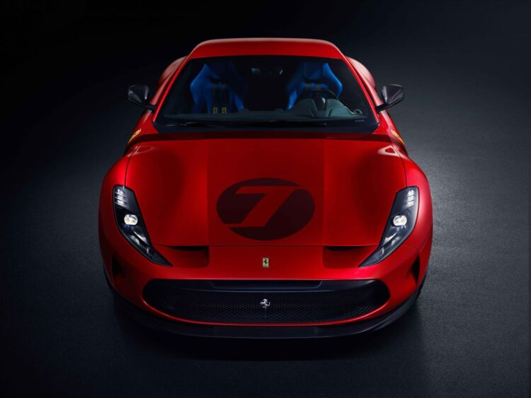 Front of Ferrari Omologata