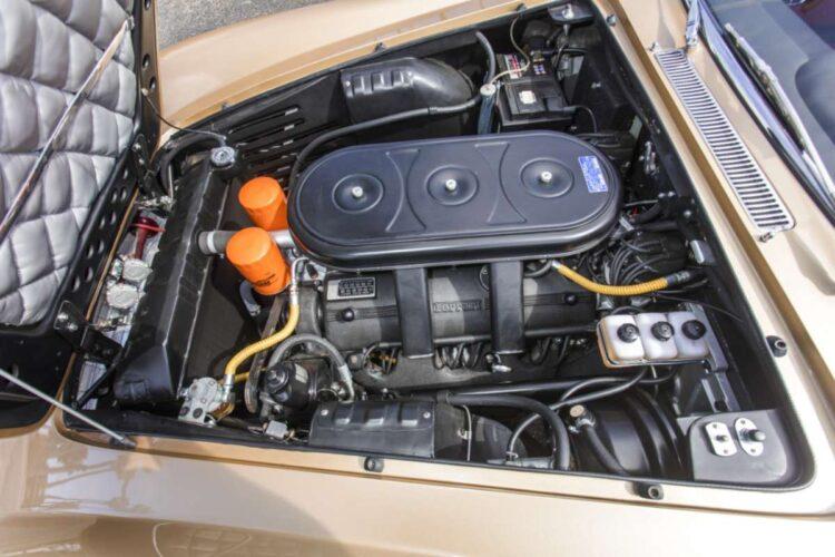 Engine of 1966 Ferrari 330 GT 2+2 Series II