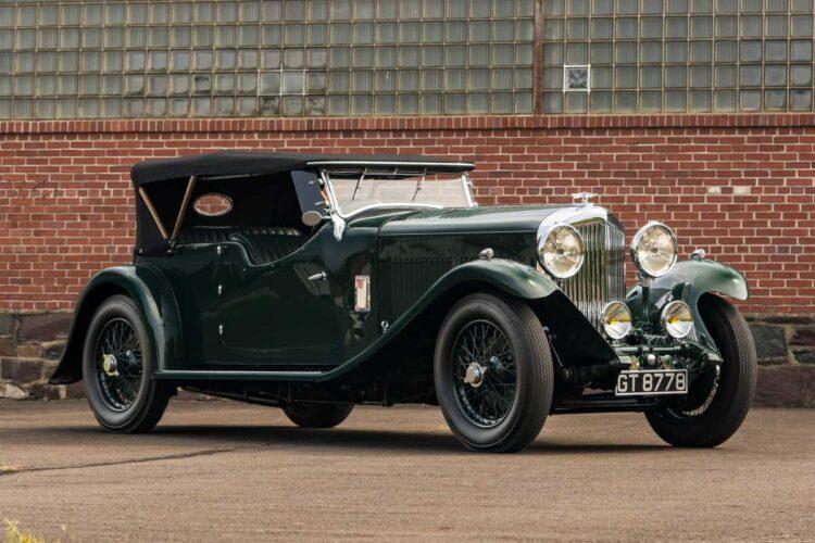 side of 1930 Bentley 8-Liter Tourer