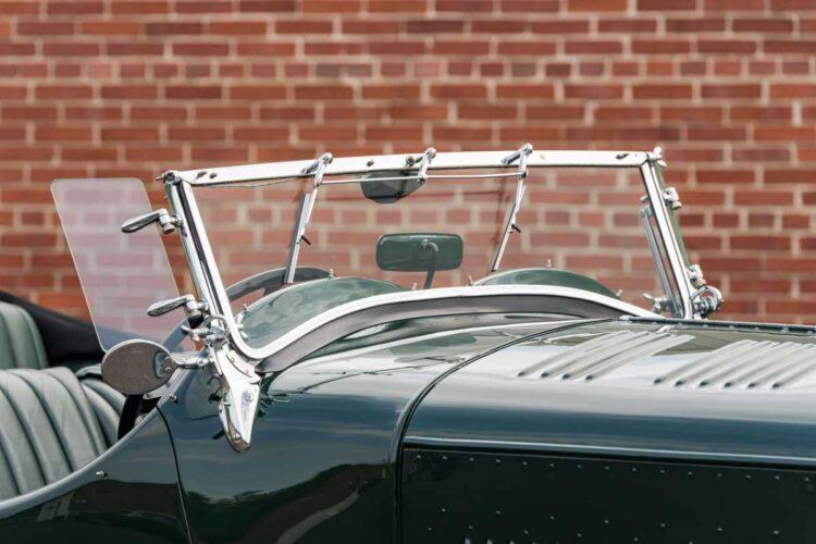 windscreen of bentley