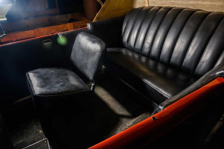 interior of 1927 Cadillac 341 -A V-8 Tourer