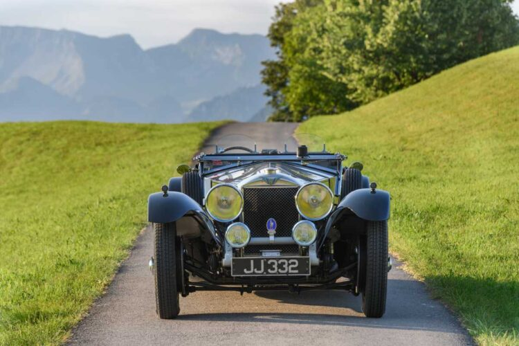 front of 1931 Invicta 4 1/2 -Litre S-Type Low Chassis Sports
