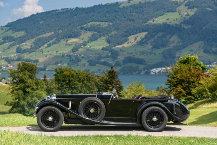 side of 1931 Invicta 4 1/2 -Litre S-Type Low Chassis Sports
