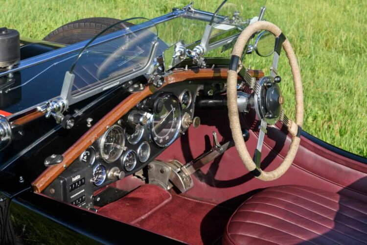 interior of 1931 Invicta 4 1/2 -Litre S-Type Low Chassis Sports