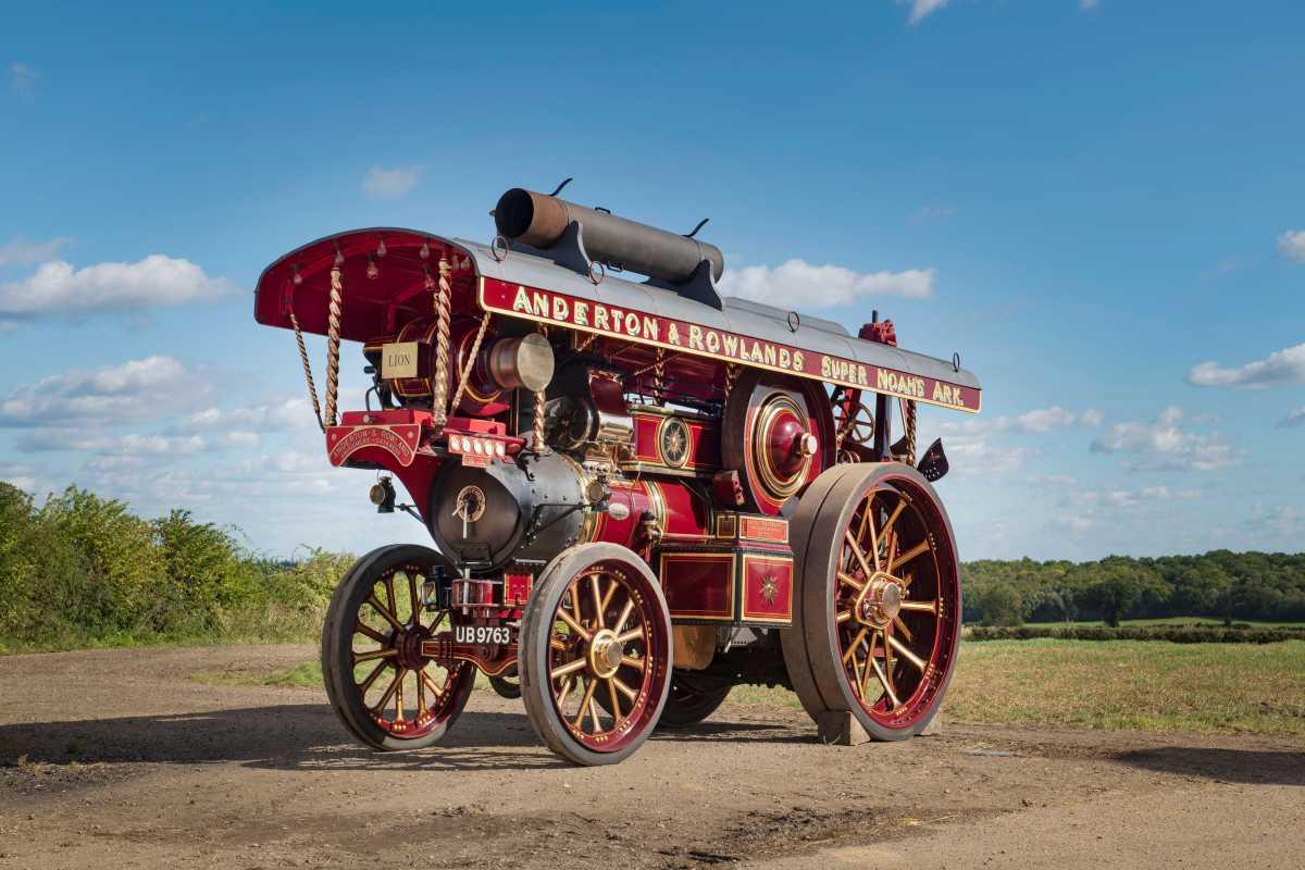 The Lion Fowler Steam Engine