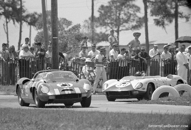 1965 Sebring 12 Hours. Ferrari 330 P3