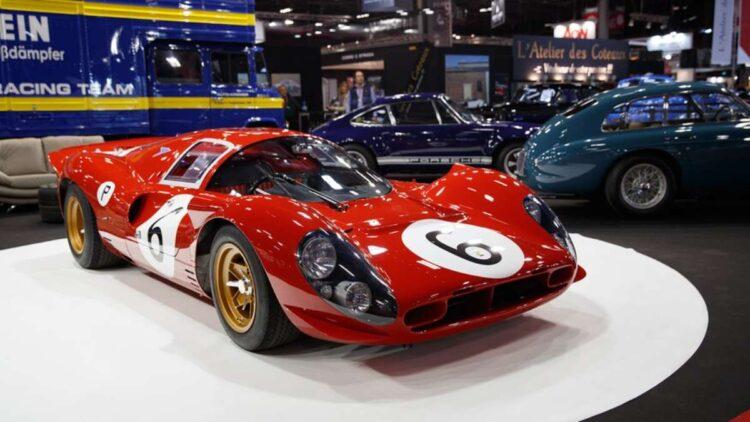 Ferrari 330 P4 Chassis 0858 at 45th Paris Retromobile.