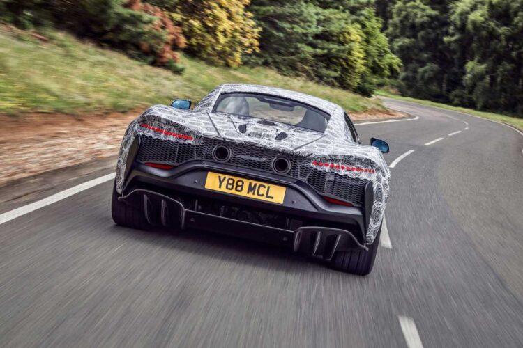 McLaren High-Performance Hybrid (HPH) supercar