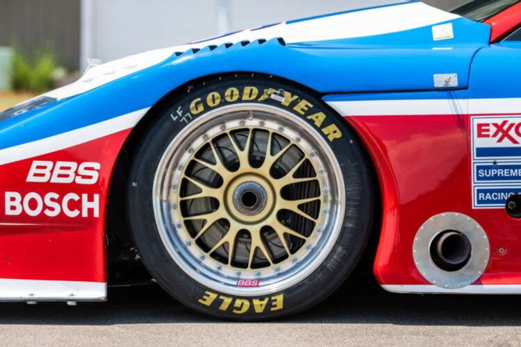 Tyre of 1989 Nissan 300ZX