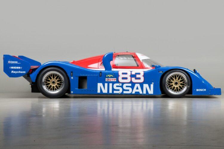 side of Nissan