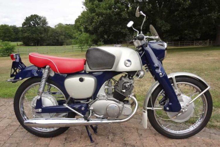 C.1961 Honda 125CC CB92 Benly Super Sport. Source: Bonhams